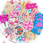 Birthday Candy Charcuterie Dessert Board Cutefetti