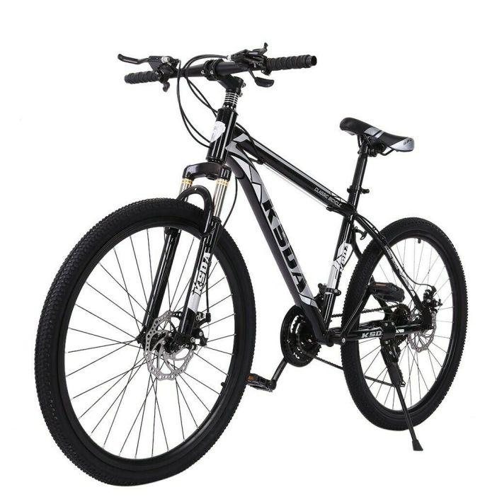 """Mountain Bike Full Suspension Shimano 21 Speed Mens Bikes MTB 26"""" Bicycle"""