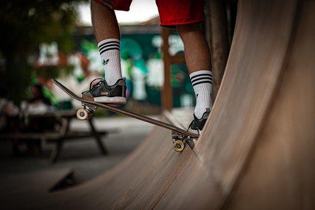 skateboard, skate, skater