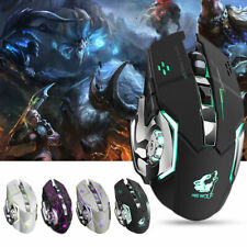X8 LED Optical USB Wireless Rechargeable Gaming Mouse Gamer Silent Computer Mice