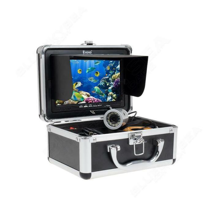 "Eyoyo Underwater 50M Fish Finder Sea/Ice Fishing Camera 1000TVL 7"" Monitor USA"