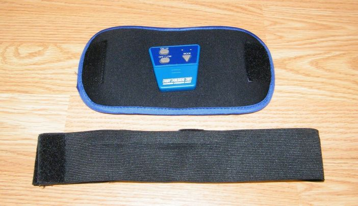 Genuine Body Building Belt - Abdominal Electronic Gymnastic Device Only **READ**