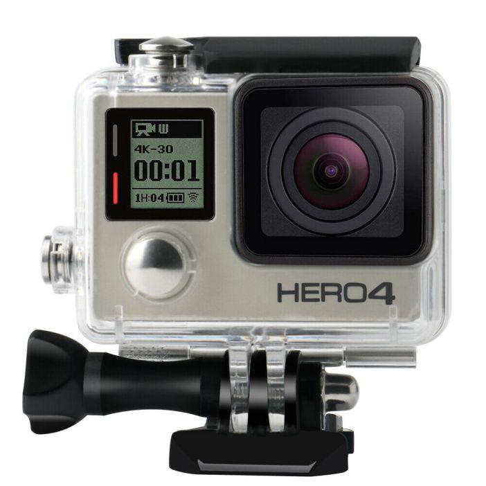GoPro Hero 3/3+/4 Underwater Waterproof Diving Housing Surfing Protective Case