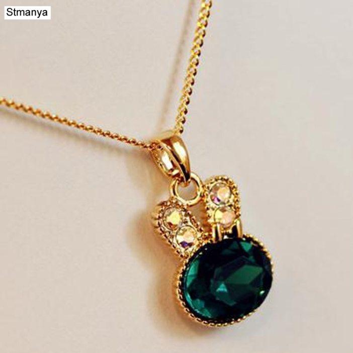 Hot Women Fashion Cute Retro pendant Necklace Cute rabbit Best Gift jewelry N1006