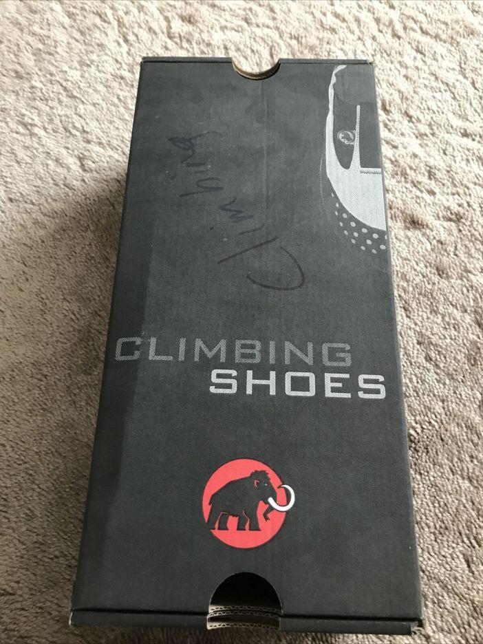 Mammut rock climbing shoes. Europe Size 43, US 9.5. Little Wear. Original Box