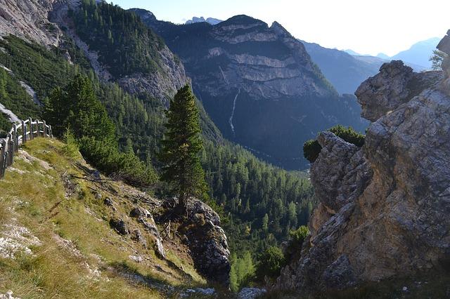 mountains, hiking, italy