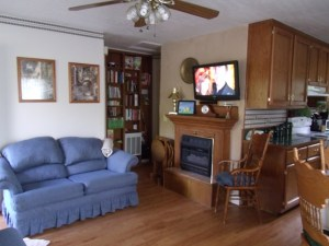 Beaver Lake Vacation Rental Living Area