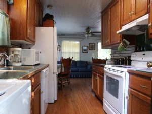 Beaver Lake vacation rental Kitchen