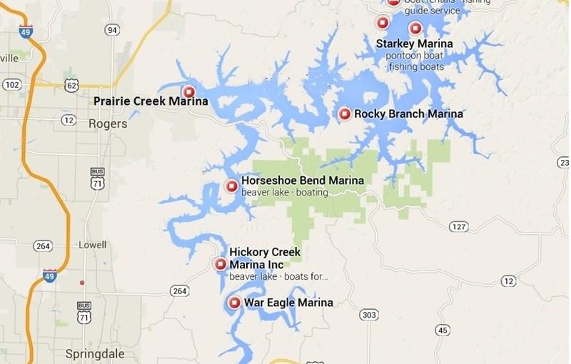Marinas On Beaver Lake Arkansas