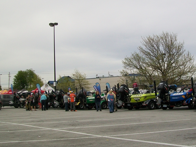 At the FLW Tournament there is always lots to see and here!