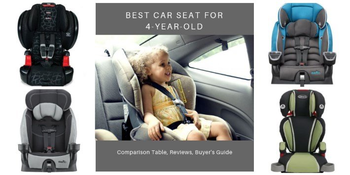 Best Car Seat for 4-Year-Olds in 2019