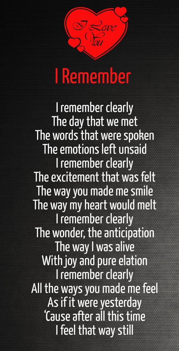 deep romantic love poems
