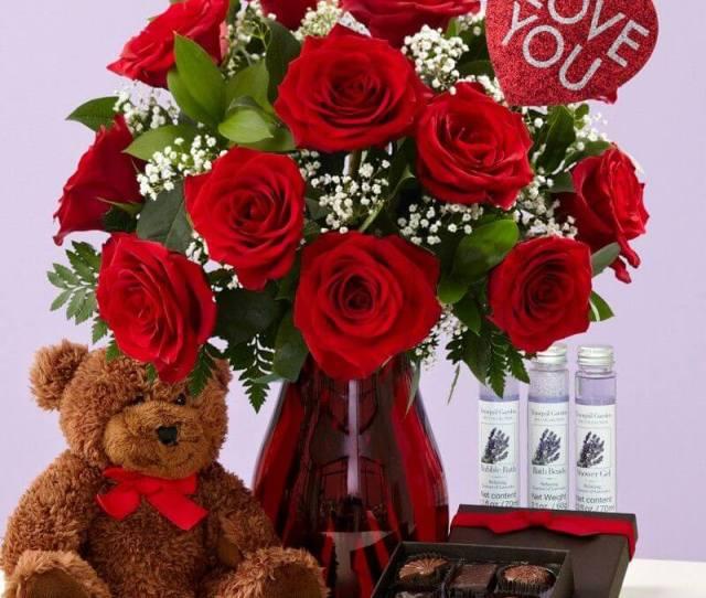 Valentine Gift Basket For Her