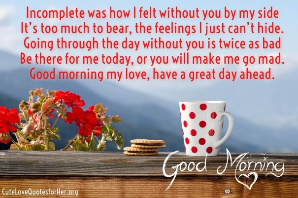 30 Beautiful Good Morning Love Poems For Her And Him