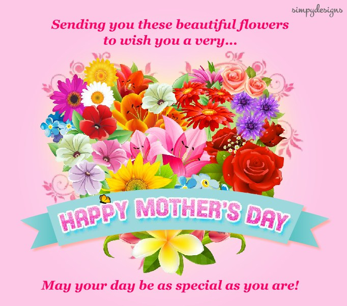 Happy Mothers Day Flowers Quotes