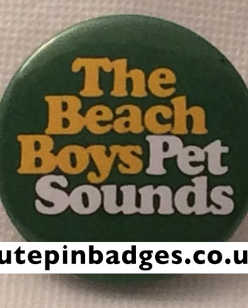 Beach Boys Pet Sounds Logo Badge