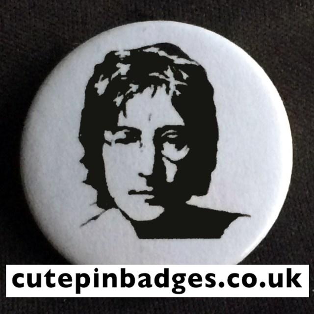 John Lennon Badge