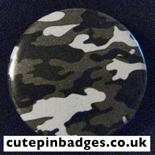 Ash Slate Camouflage Badge
