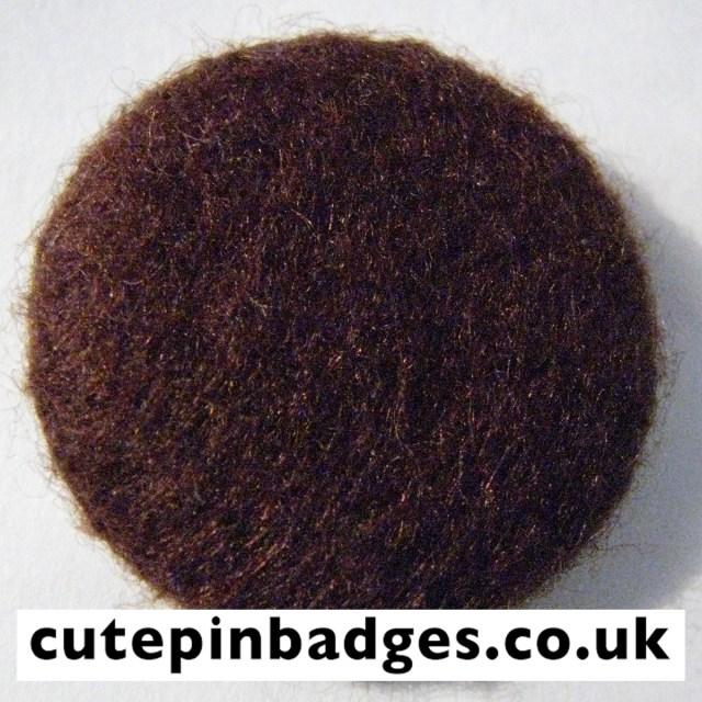 Brown Felt Badge
