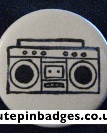 Ghetto Blaster Badge