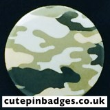 Tea Green Laurel Camouflage Badge
