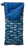284929 Camp Sleeping Bag Kids Graphic robo shark