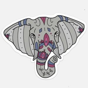 elephant sticker cute animal vsco