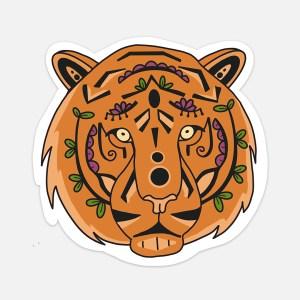 tiger sticker animal hydroflask