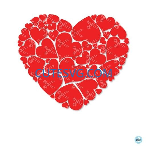 Download Heart - Valentine - Love SVG DXF - Cute SVG Vector Files