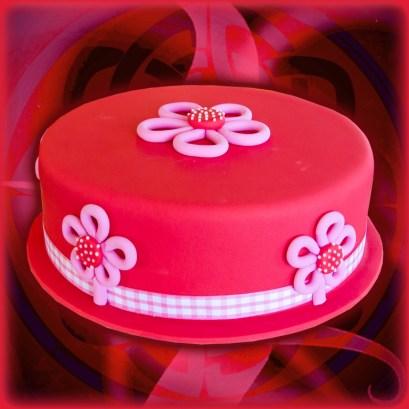 Cute Red Cake