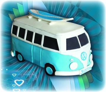 VW Kombi Van Cake
