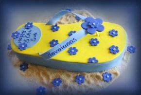 Thong cake (blue)