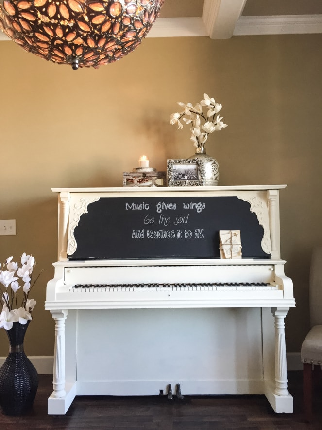 15 Beautiful Piano Painting Makeovers Cutesy Crafts