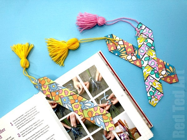 15 DIY Bookmarks Cutesy Crafts