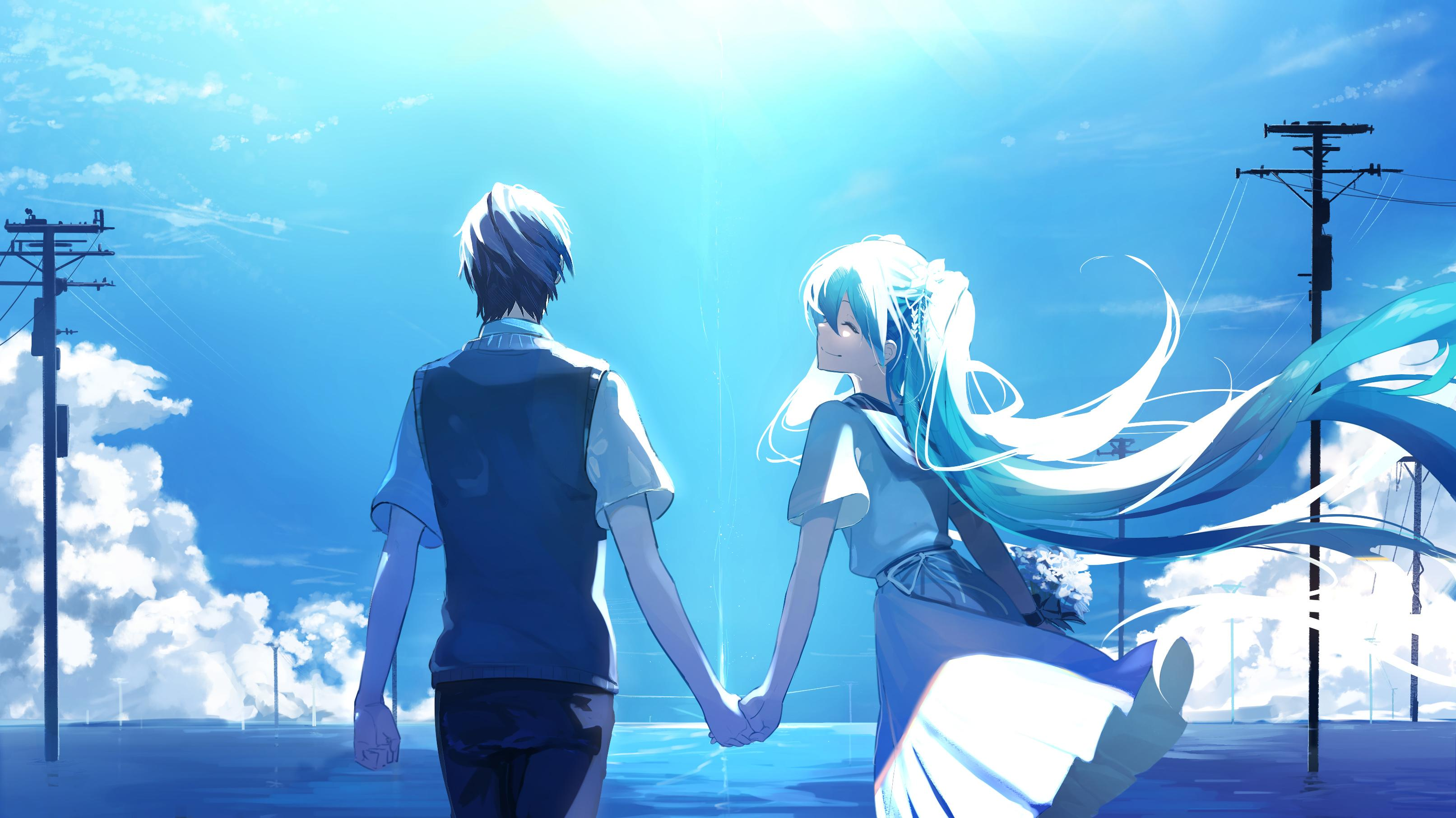 Anime Couples Wallpaper Posted By John Cunningham