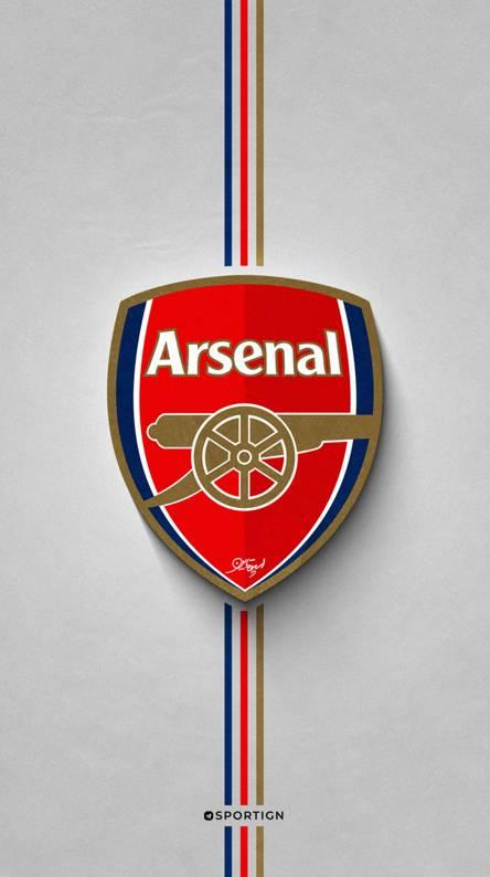 arsenal logo wallpaper posted by ryan