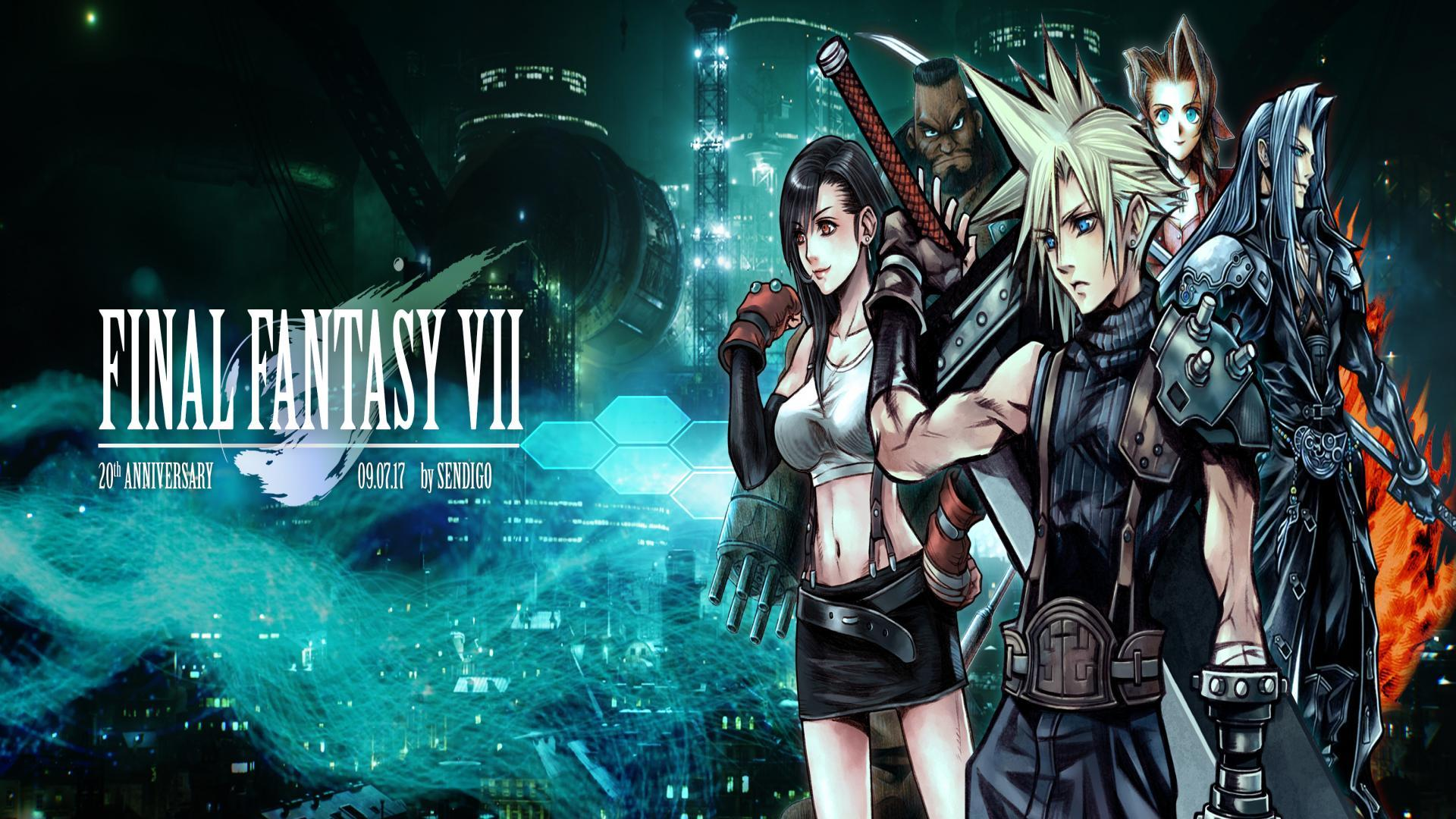 Final Fantasy Vii Wallpaper posted by Ryan Thompson