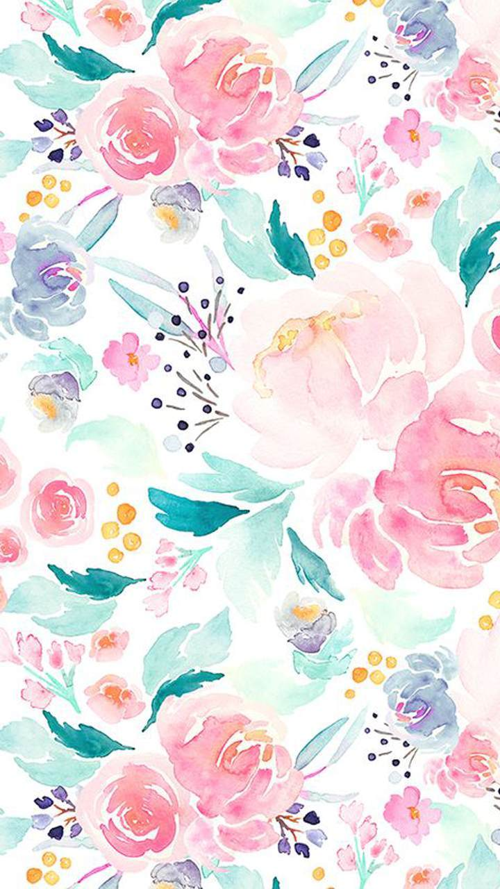 Floral Hd Wallpaper Posted By Christopher Mercado