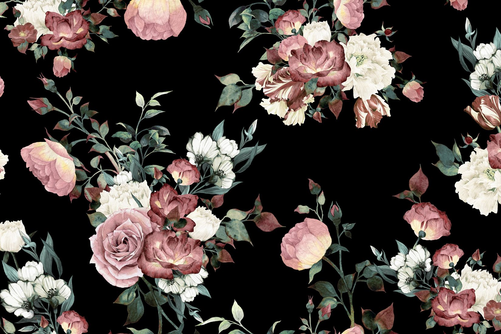 Hd Floral Wallpaper Posted By John Thompson