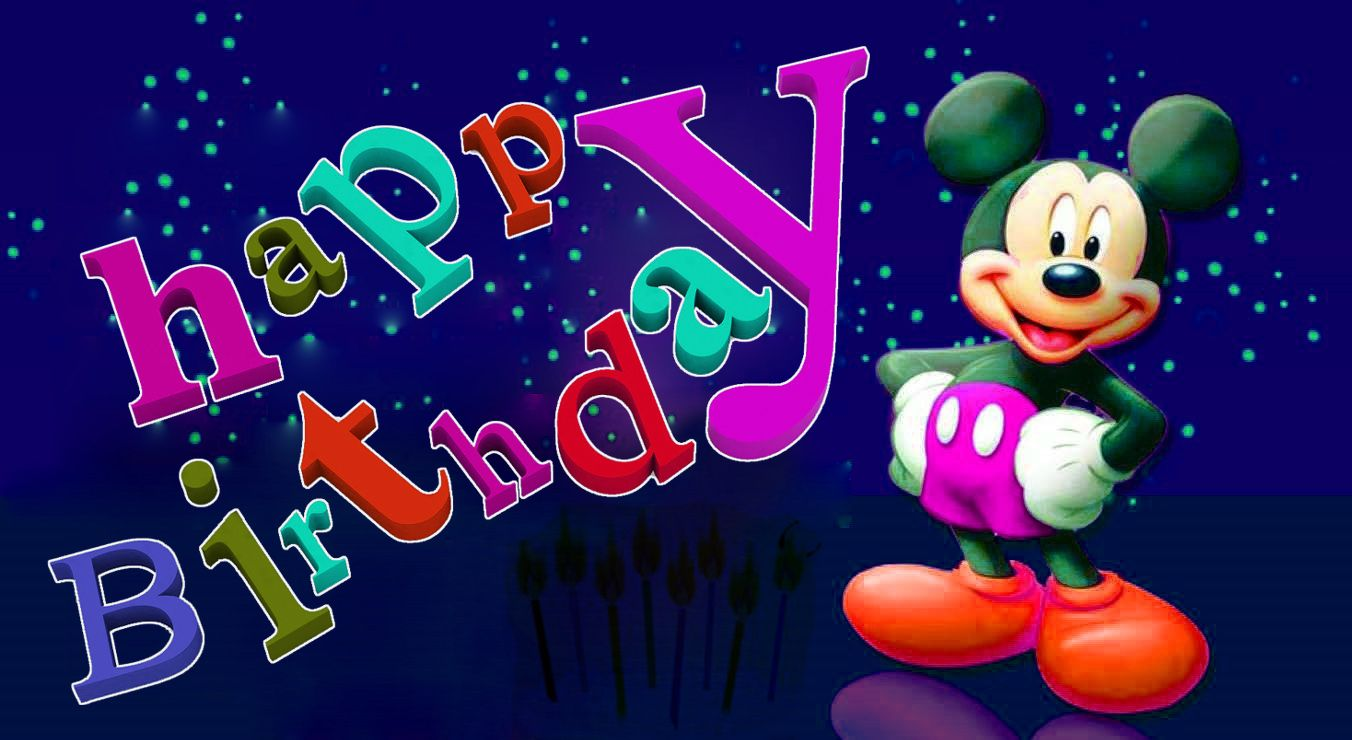 Mickey Mouse Birthday Wallpapers Posted By Samantha Simpson