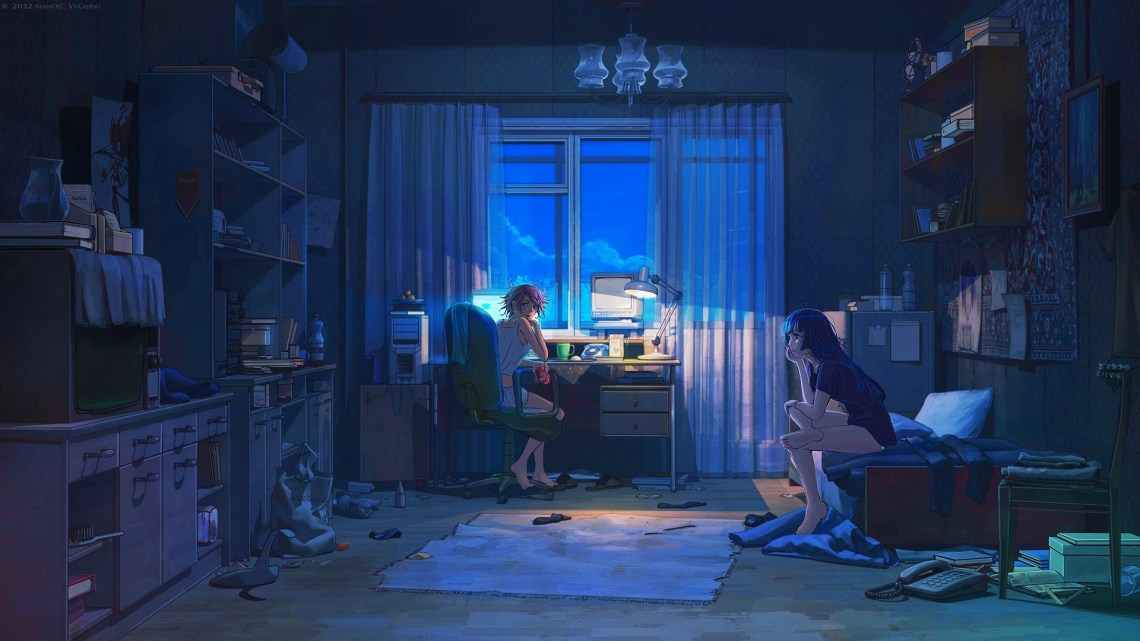 Retro Anime Background Posted By Samantha Sellers