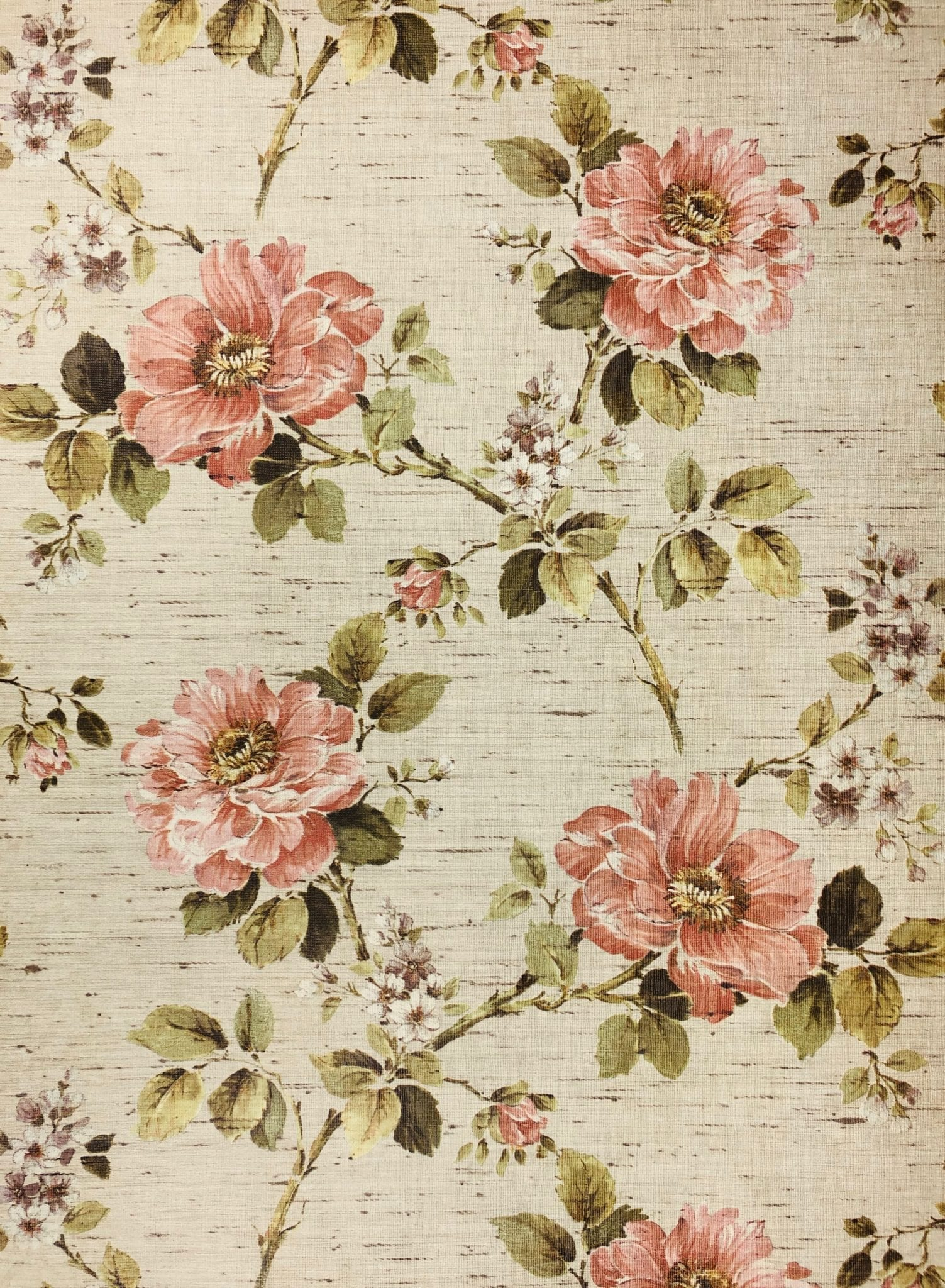 Wallpaper Flowers Vintage Posted By Ethan Anderson