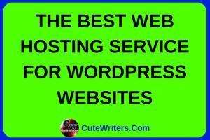 best-wordpress-web-hosting-service