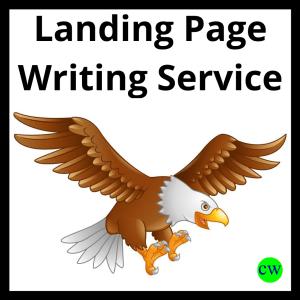 Landing Page Writing Service