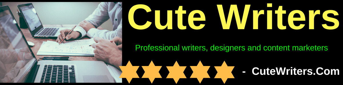 About Us Cutewriters.com writing company