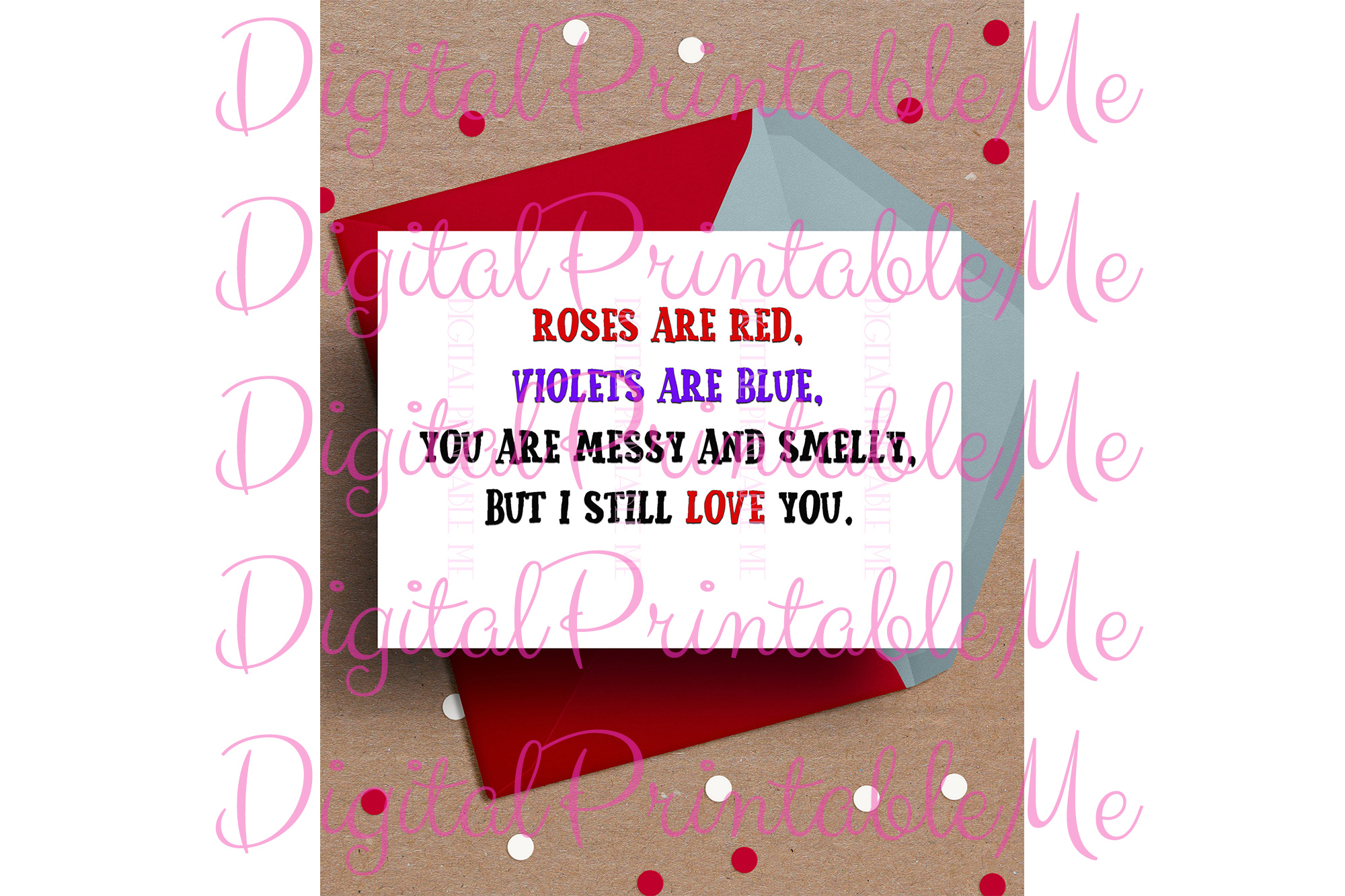 photograph regarding Printable Valentine Cards for Husband identified as Humorous Valentines working day Card, Anniversary Card, Printable appreciate, impolite valentine for Him, roses, birthday card partner boyfriend, anniversary