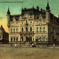 Palatul Ministerului de Externe (Palatul Sturdza) la începutul secolului XX.