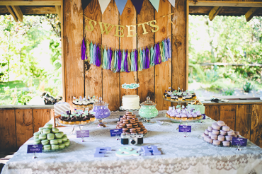 One of my favorite things about our wedding was the dessert table!! It turned out so great!