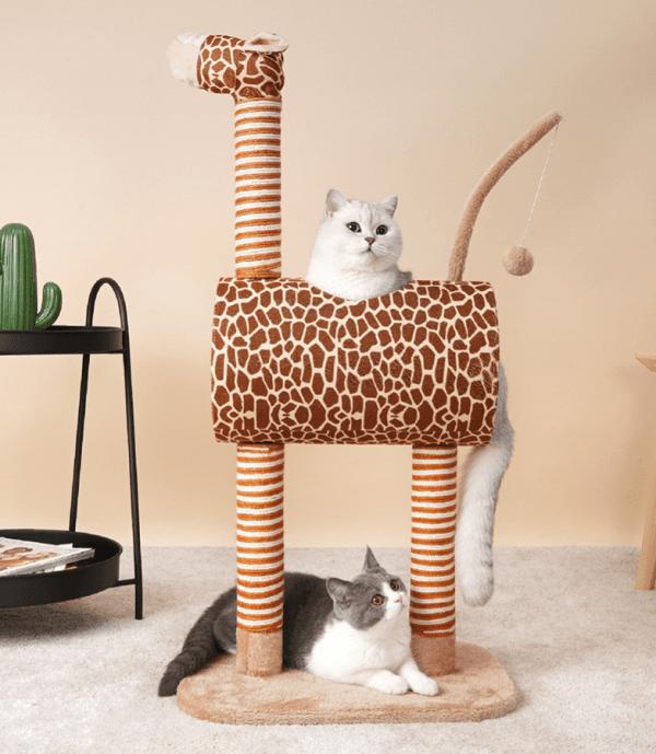 Mooie Middelgrote Krabpaal in de vorm van een giraf