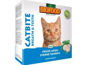 Biofood Catbite gebitsverzorging Kattensnoepjes 100st